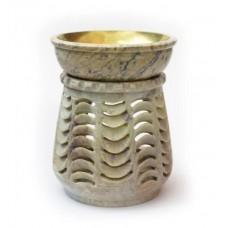 Аромалампа круглая каменная