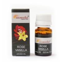 Эфирное масло Роза с ванилью Aromatika Oil Rose Vanilla 10ml.