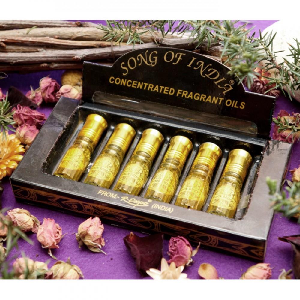 Эфирное масло Сандал Song of India Sandal 2,5ml.