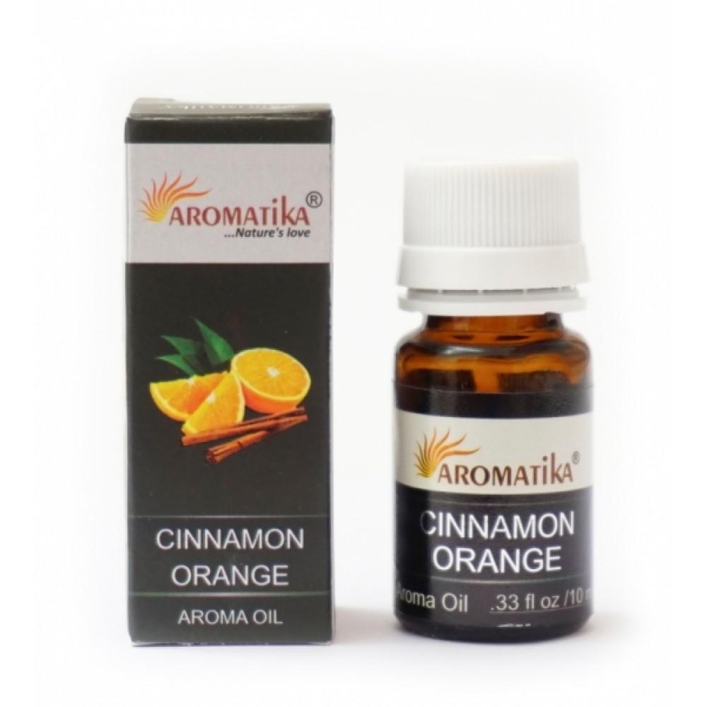 Эфирное масло Корица с апельсином Aromatika Oil Cinnamon Orange 10ml.