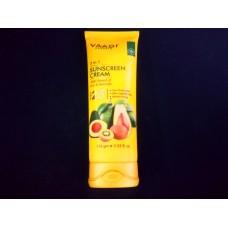 Крем Cолнцезащитный киви - авакадо (Sunscreen cream with Kiwi Avocado) Vaadi Herbal SPF 25