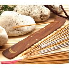 Подставка для аромапалочек деревянная ЛЫЖА Месяц