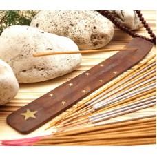Подставка для аромапалочек деревянная ЛЫЖА Звезда