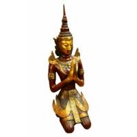 Статуэтка бронзовая Бирманский Будда 70 см.