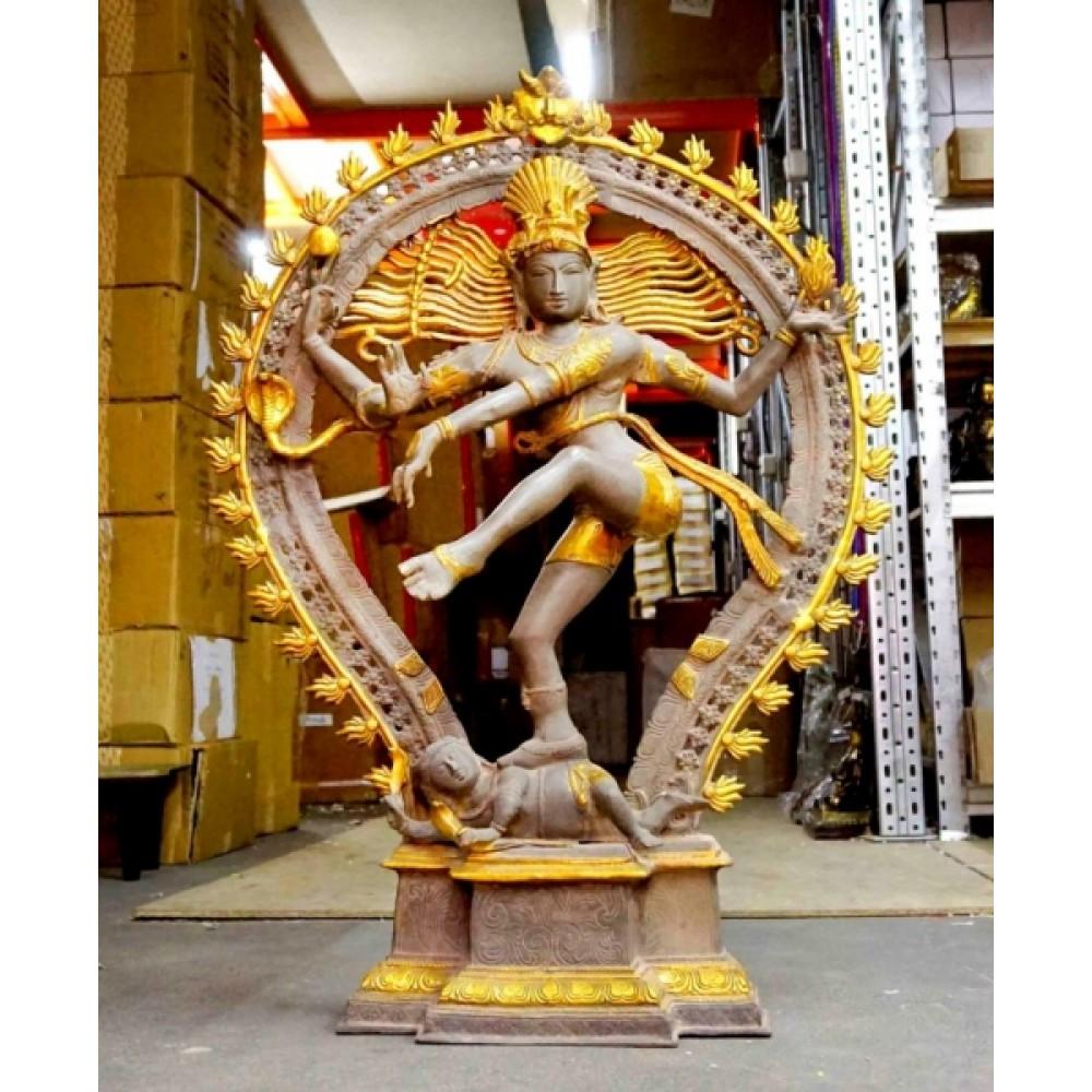 Статуэтка бронзовая Шива Натарадж 90 см.