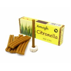 Аромапалочки Цитронелла Amogh dhoop Citronella (безосновные)