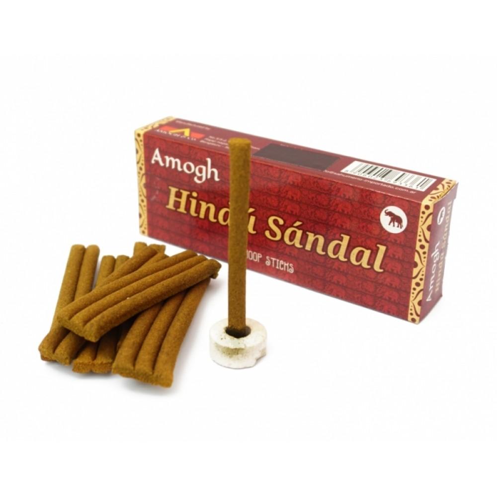 Аромапалочки Сандал Amogh dhoop Hindu Sandal (безосновные)