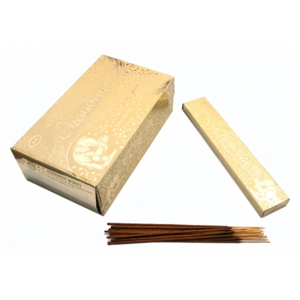 Аромапалочки пыльцевые Сандал AS Brand Chandan
