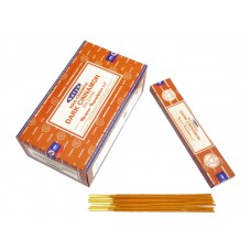 Аромапалочки пыльцевые Сатья Темная корица Satya Dark Cinnamon 15 грамм