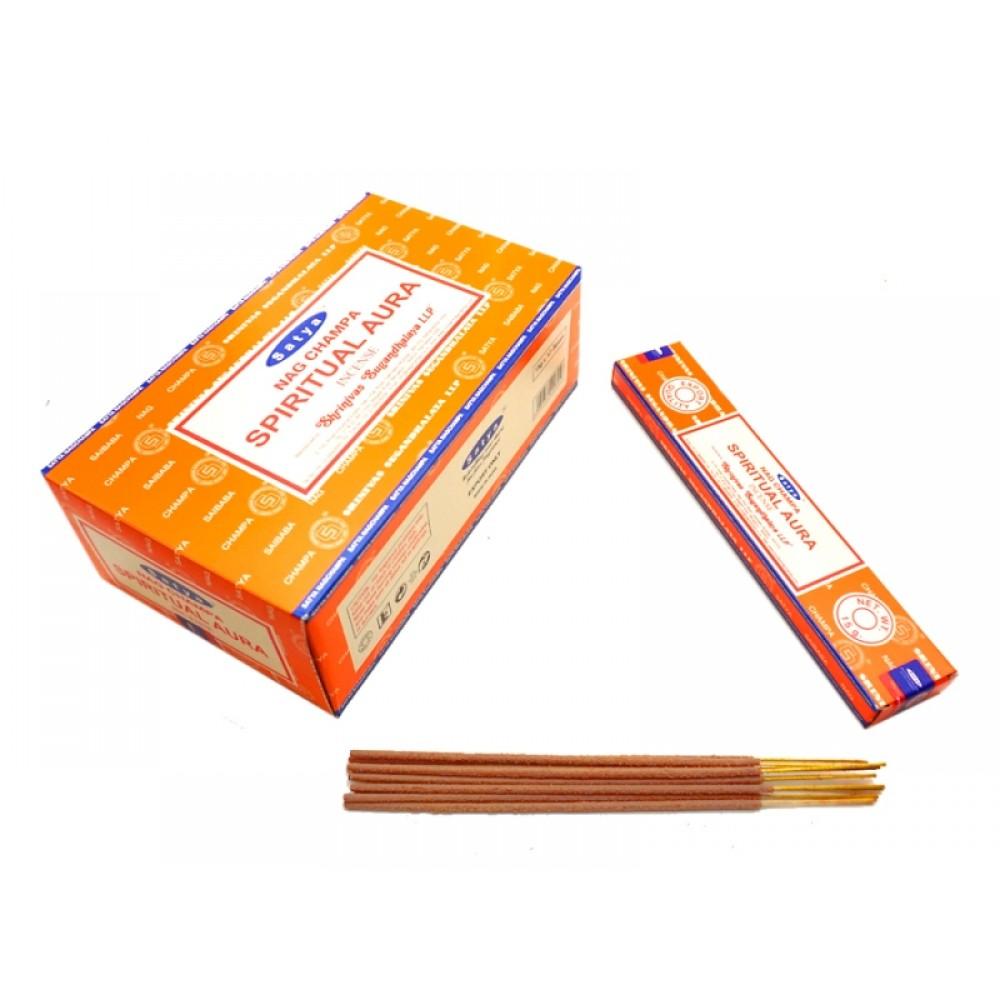 Аромапалочки Сатья Духовная Аура Satya Spiritual Aura 15 грамм