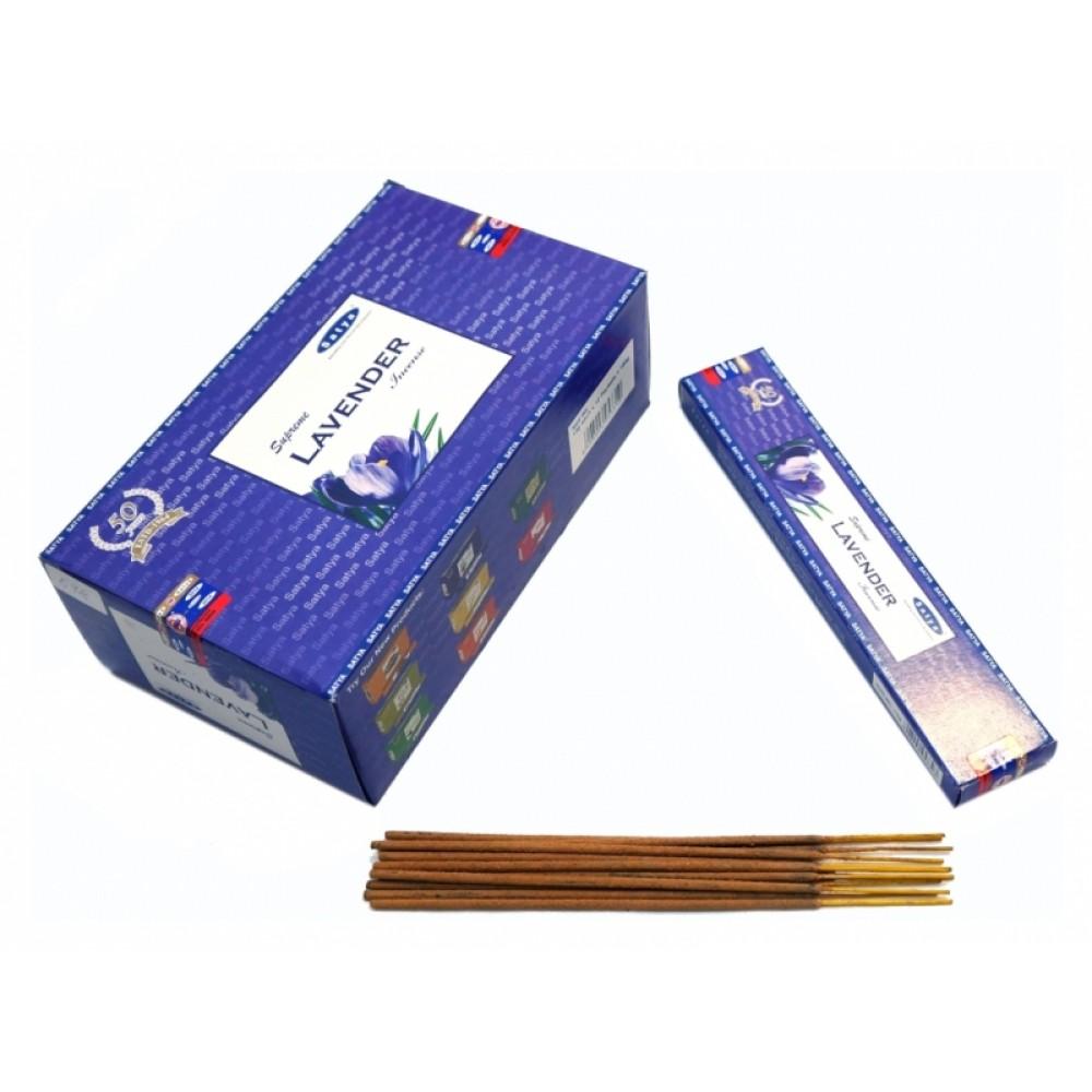 Ароматические палочки Лаванда Satya Supreme Lavender