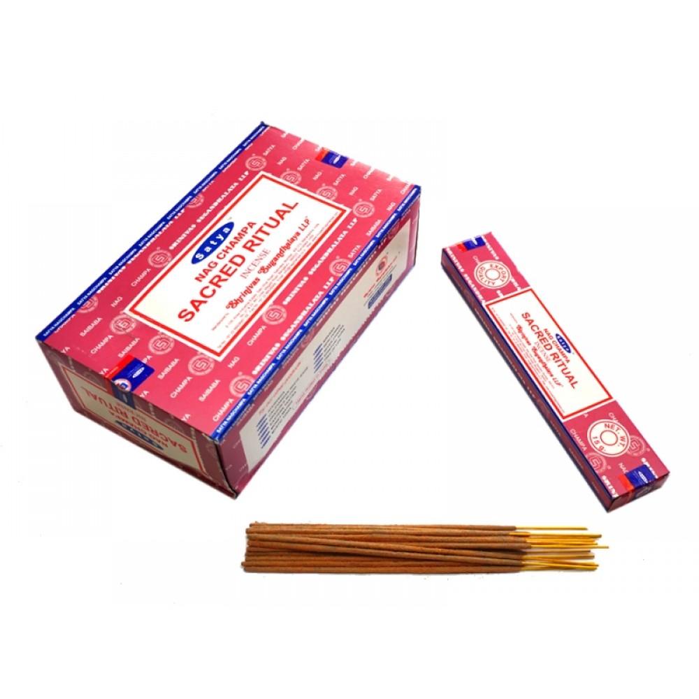 Ароматические палочки Священный ритуал Satya Sacred Ritual 15 грамм