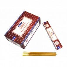 Благовония натуральные индийские аромапалочки Наг Чампа Гуруджи Сатья Satya Guruji