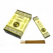 Благовония натуральные индийские аромапалочки Ваниль Ayurvedic Vanilla