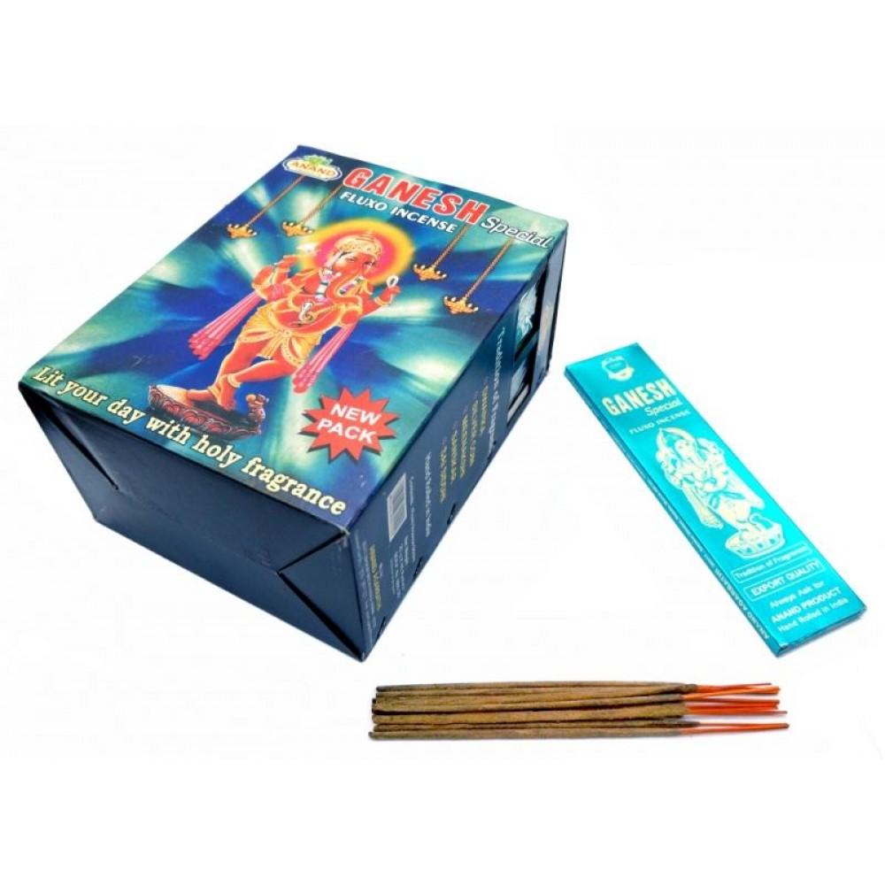 Аромапалочки натуральные Ананд Ганеш Anand Ganesh Special 25 грамм