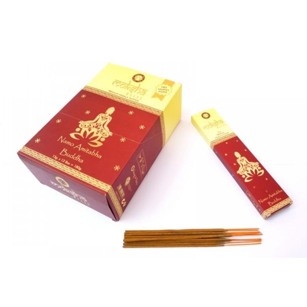 Ароматические палочки Мокша Premium Masala R-Expo Moksha