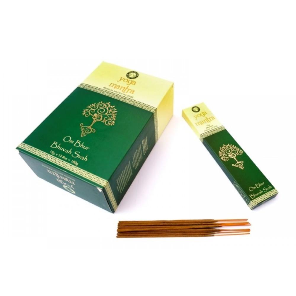 Ароматические палочки Йога Мантра Premium Masala R-Expo Yoga Mantra