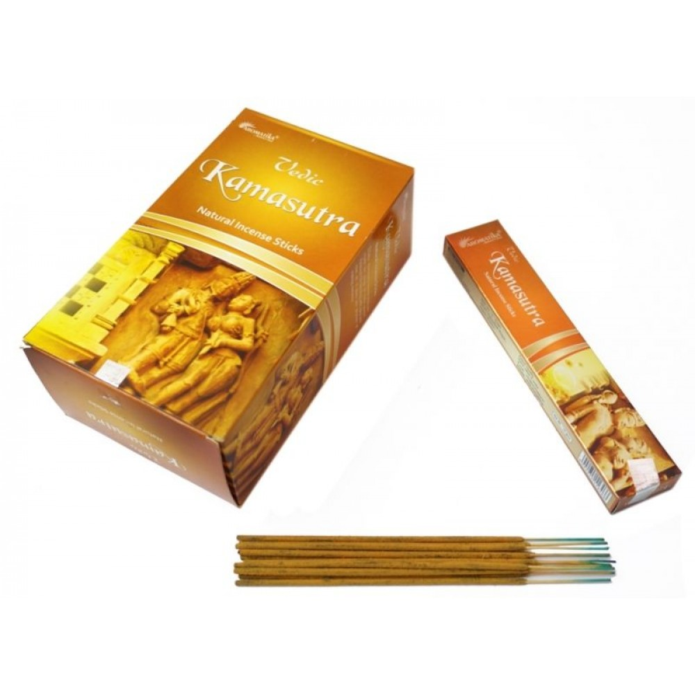 Ароматические палочки пыльцевые Камасутра Aromatika Vedic Kamasutra
