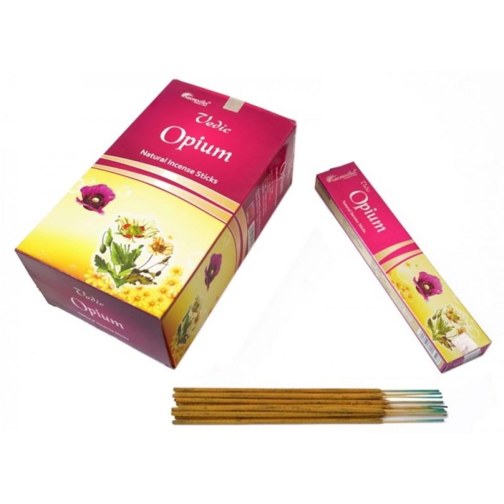 Ароматические палочки пыльцевые Опиум Aromatika Vedic Opium