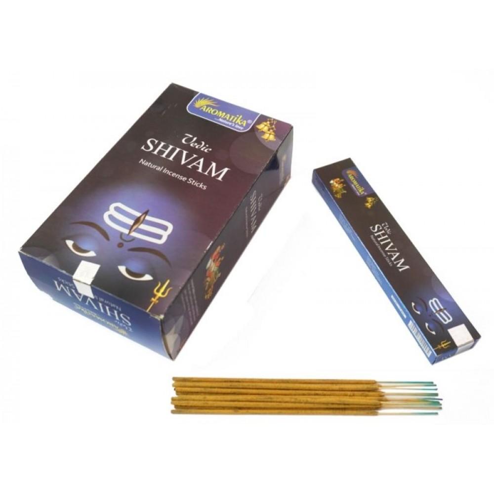 Ароматические палочки пыльцевые Aromatika Vedic Shivam