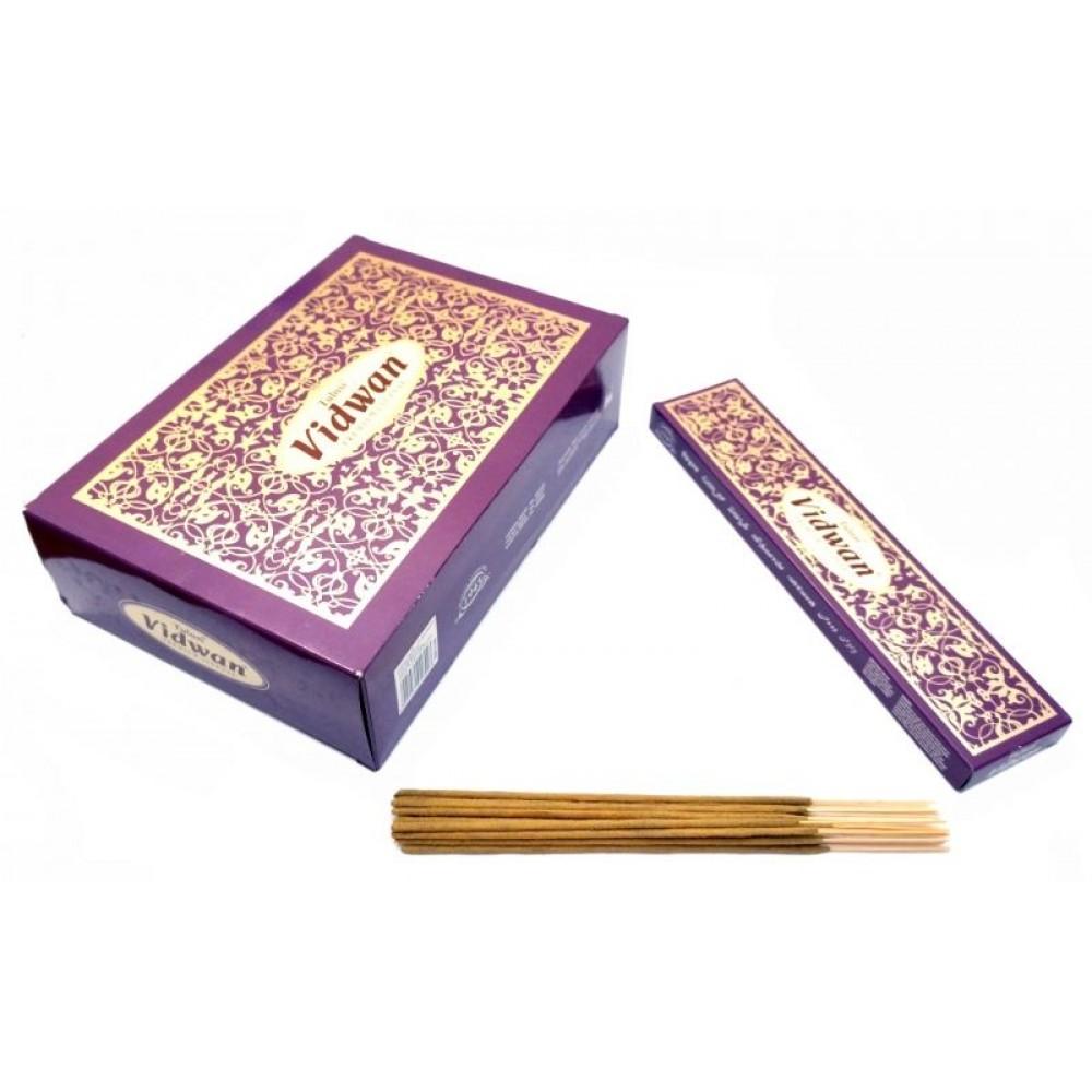 Ароматические палочки пыльцевые Tulasi (Туласи) Vidwan