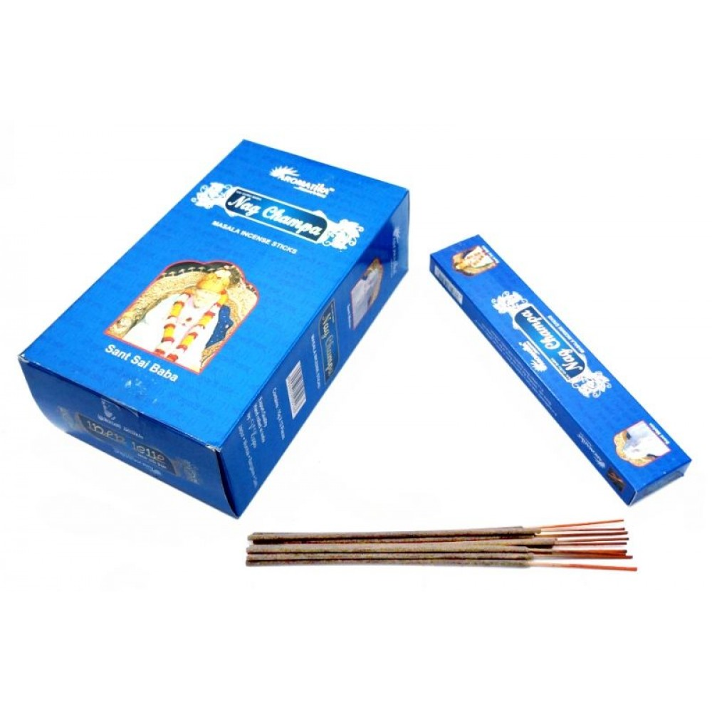 Ароматические палочки пыльцевые Наг Чампа Aromatika Nag Champa