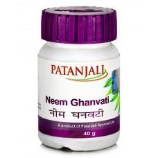 Ним Гхан Вати, 60 таб, Патанджали; Neem Ghan Vati, 60 tabs, Patanjali