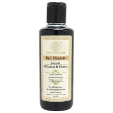 Шампунь для волос Шикакай, 210 мл, производитель Кхади; Shikakai Hair Cleanser, 210 ml, Khadi