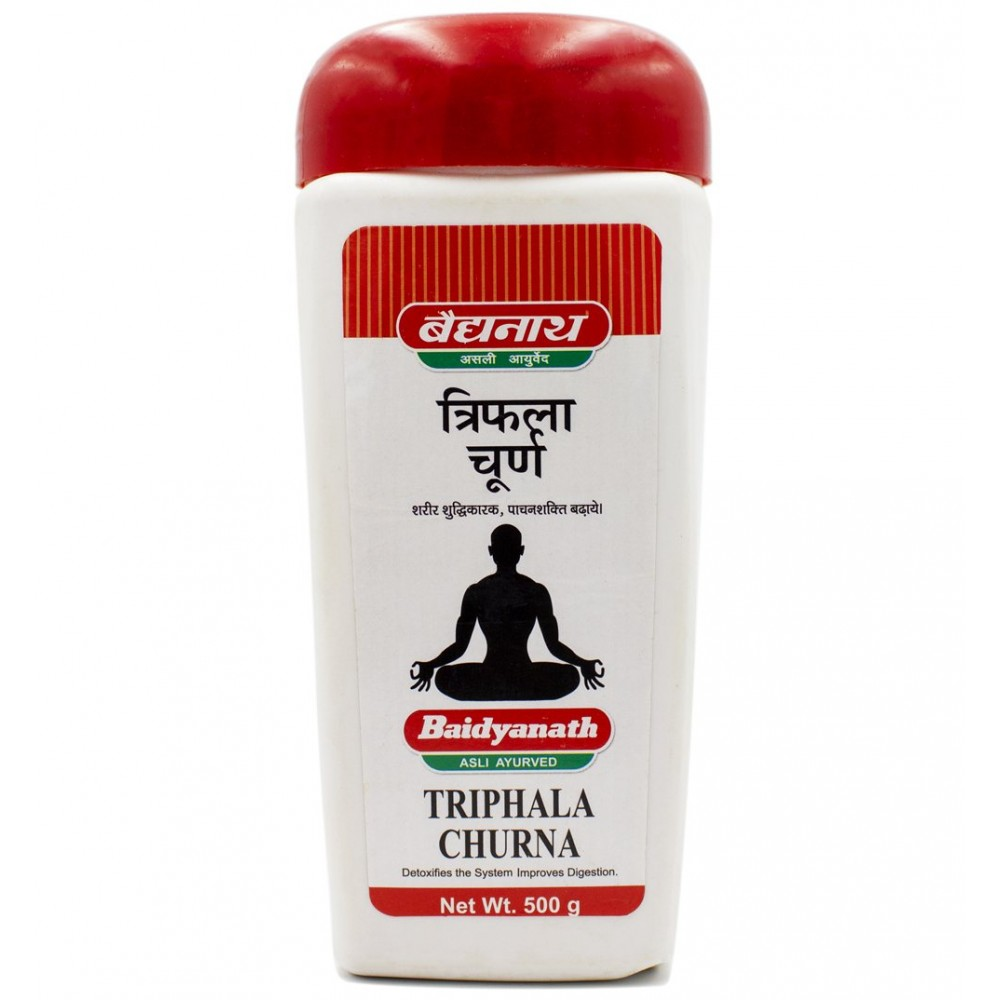 Трифала чурна Байдьянатх Triphala Churna Baidyanath 500 гр