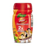 Чаванпраш Двойной иммунитет, 500 г + 75 г, производитель Дабур; Chyawanprash DOUBLE Immunity, Dabur