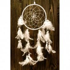 Ловец снов 1 кольцо Белый
