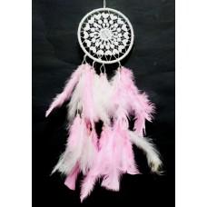 Ловец снов 1 кольцо Розовый