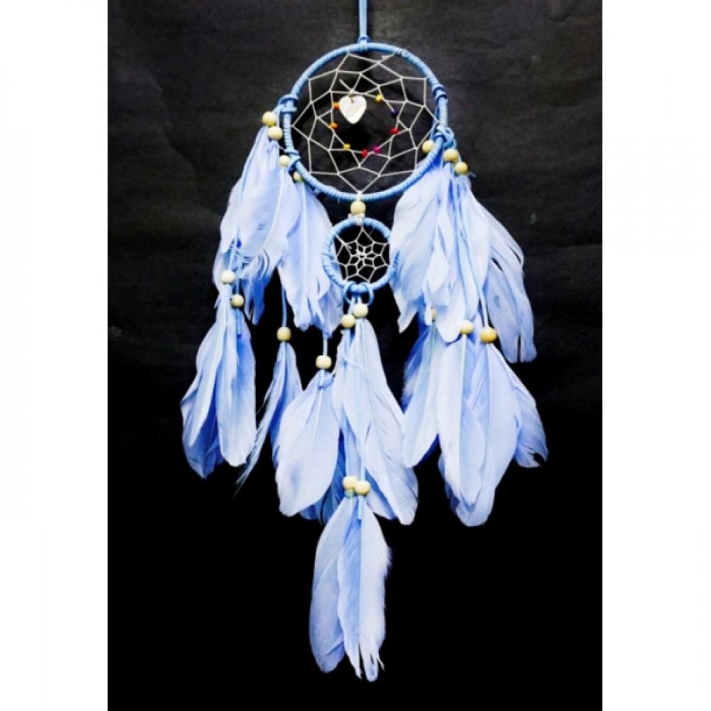 Ловец снов 2 кольца Голубой