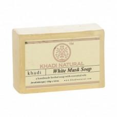 Натуральное аюрведическое мыло Белый Мускус Кхади 125 г Khadi White Musk Soap