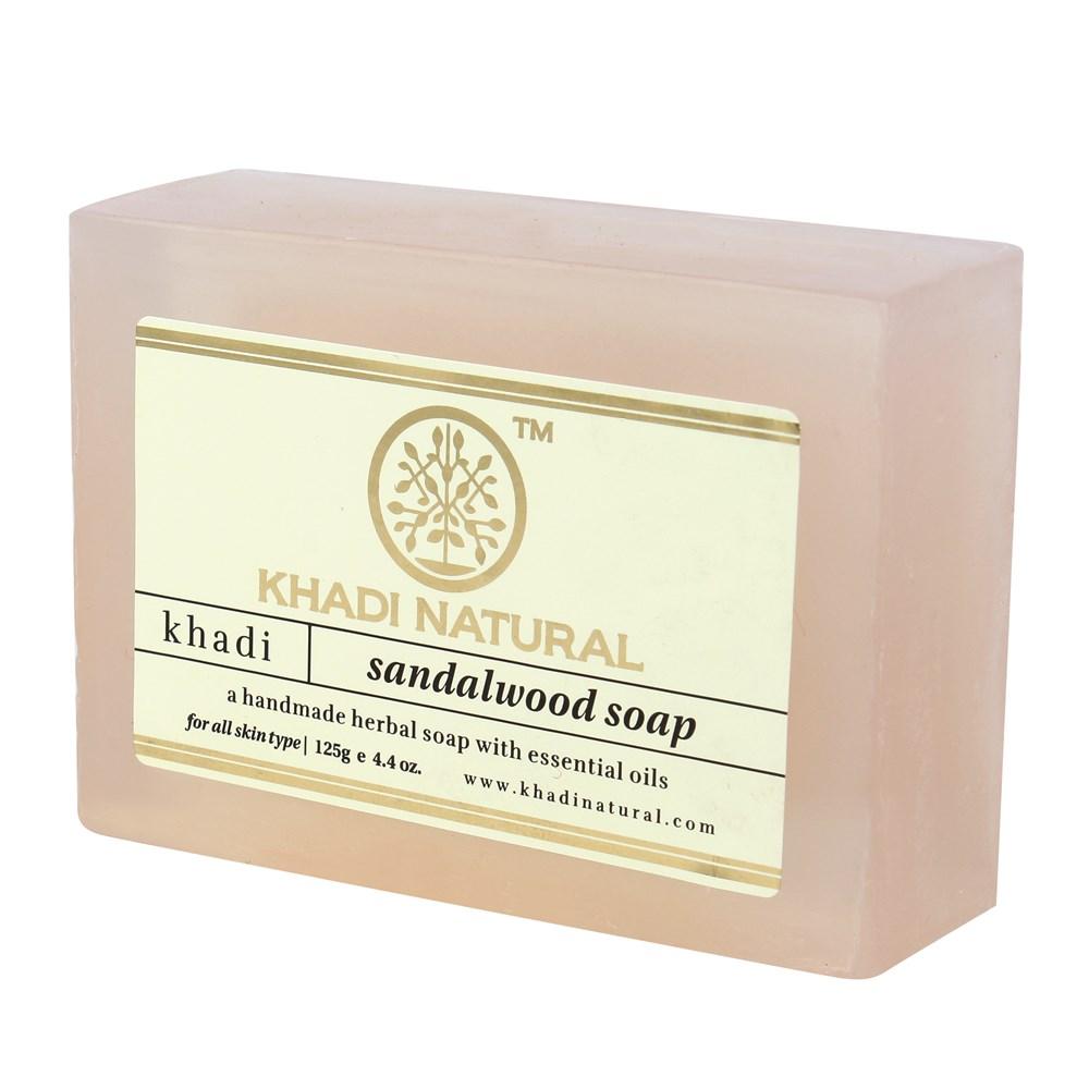 Натуральное аюрведическое мыло Сандал Кхади 125 г Khadi Sandalwood Soap