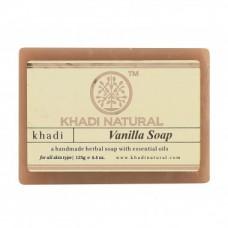 """Натуральное аюрведическое мыло """"Ваниль"""" Кхади 125 г Khadi Vanilla Soap"""