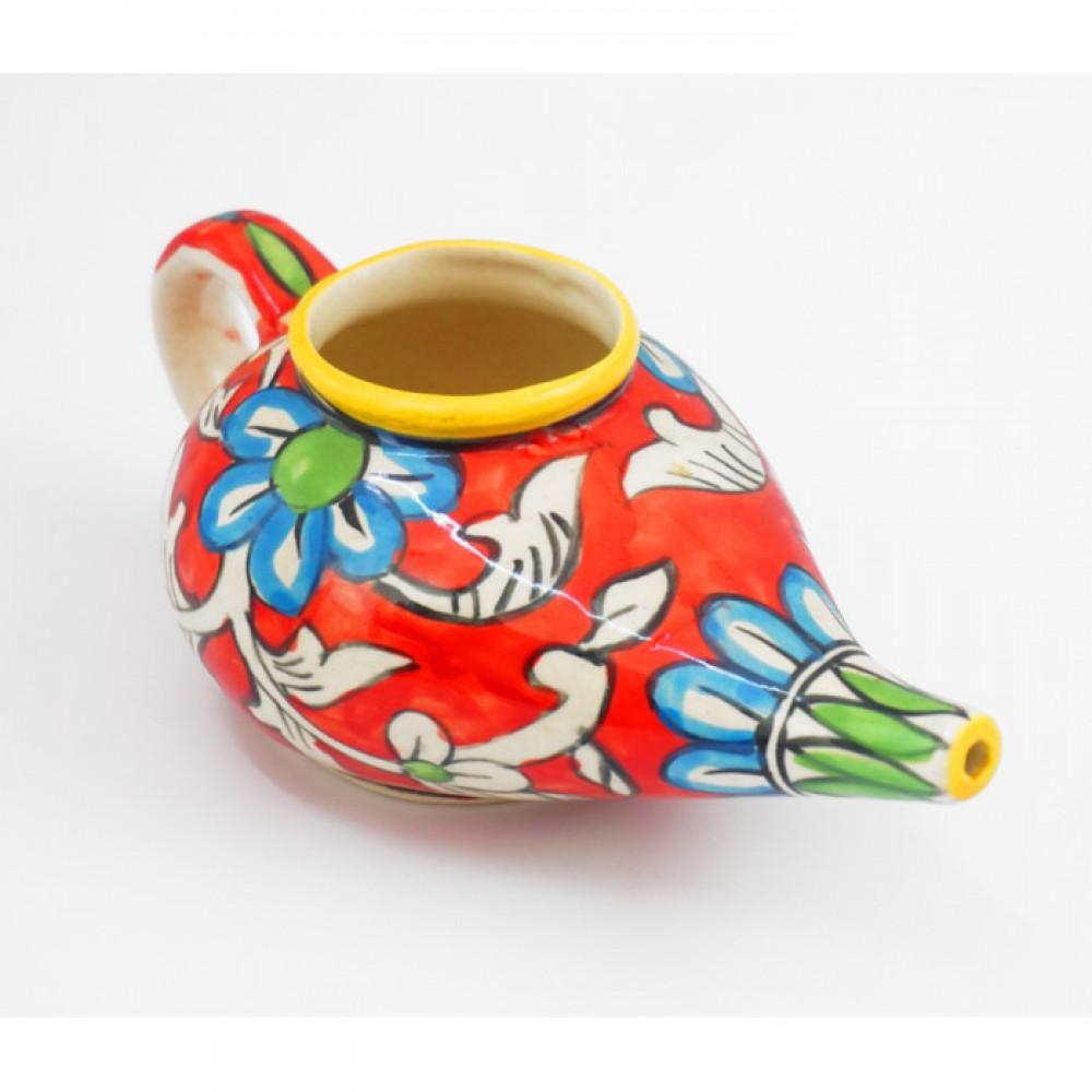 """Чайник для промывки носа керамический """"Нети Пот"""" №3"""