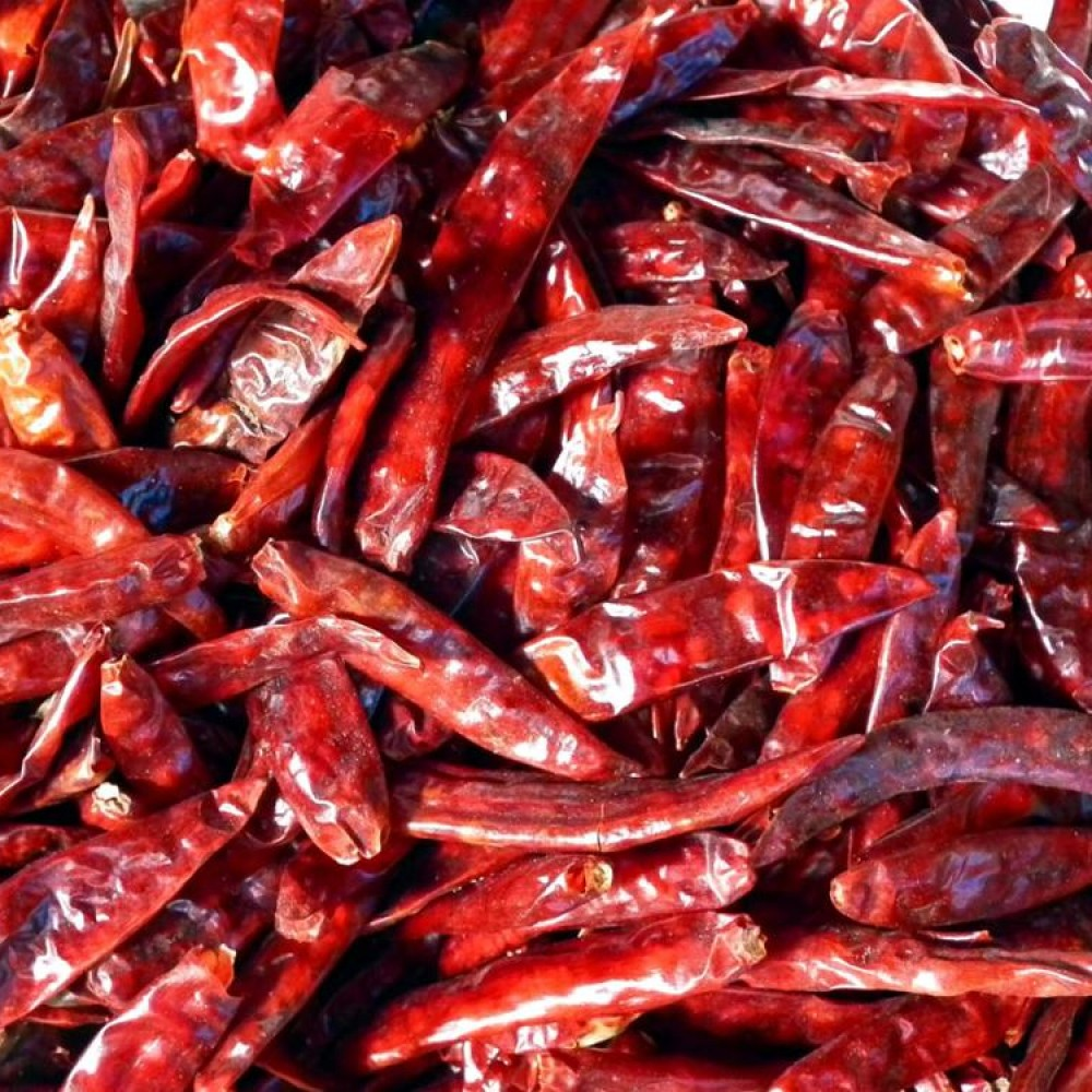 Перец красный стручковый чили вяленый