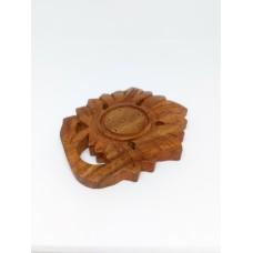 Подставка для аромапалочек деревянная Цветок