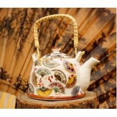 Чайник - заварник 'Тибет' фаянс №1 900 мл