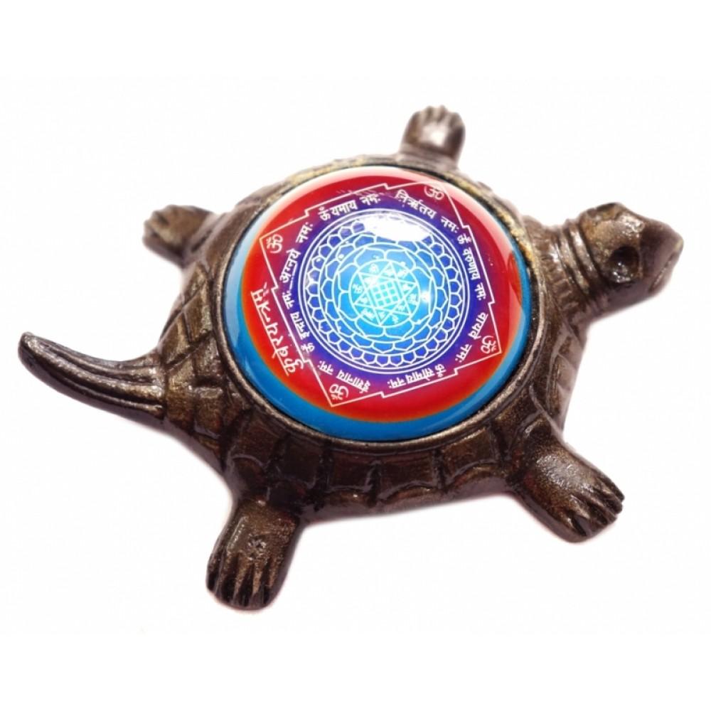 Курма Кубер Янтра (янтра на черепахе) бронза