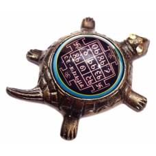 Курма Шани Янтра (янтра на черепахе) бронза