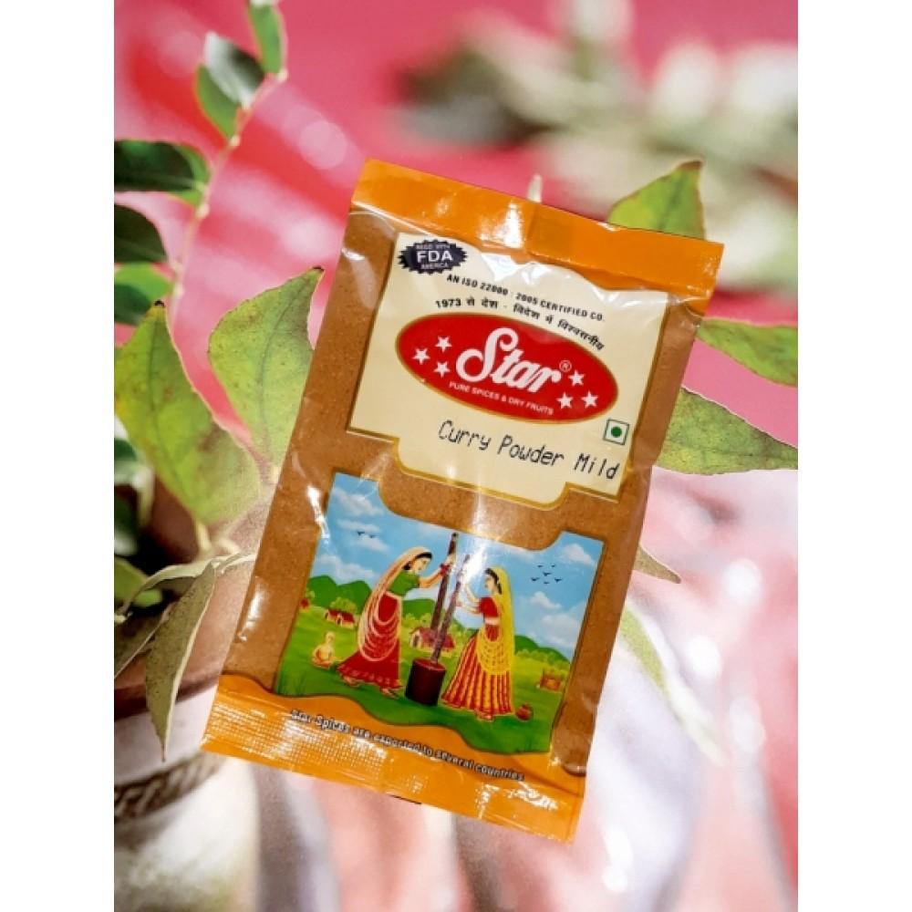 Карри листья молотые Curry Powder Mild 100 грамм