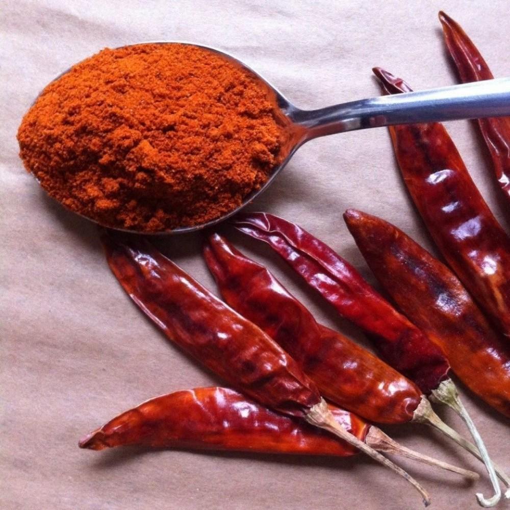 Перец чили красный молотый (Индия)