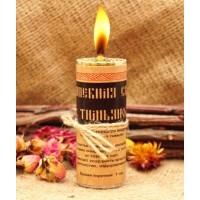 Волшебная свеча с тимьяном ручная работа
